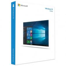 Microsoft Windows 10 Home 32-bit/64-bit, только лицензия, мультиязычный, кол-во лицензий: 1, срок действия: бессрочная