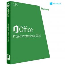 Microsoft Project 2016 Professional ESD 32/64 bit
