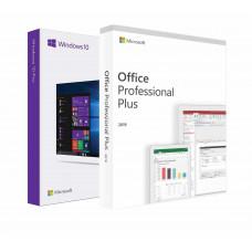 Windows 10 Professional + Office 2019 Professional Plus