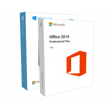 Windows 10 Home + Office 2019 Professional Plus