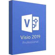 Microsoft Visio 2019 Professional ESD 32/64 bit